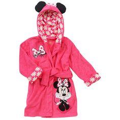 "Disney Girls' Terrycloth Bathrobe - Minnie Mouse - Babies R Us - Babies ""R"" Us"