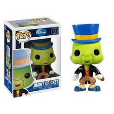 Bring home this collectable Disney POP! Jiminy Cricket Vinyl Figure, developed by Disney and Funko. Collect all 12 Disney POP!