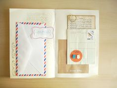 Heart Handmade UK: Notebook Ideas #19 | Envelope and Scrap Paper Notebooks DIY | From Oh Hello Friend - so cute and lovely