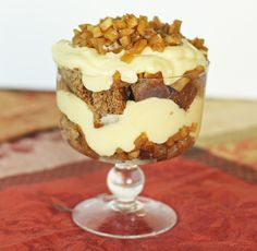 Apple and Honey Trifle