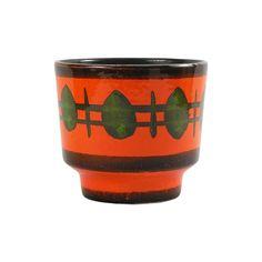 NousDecor Holiday Gift Guide: Tangerine Ceramic Planter