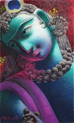 Krsna -::- amazing blend of color, texture and devotion