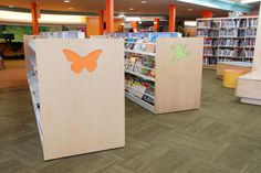 LFI Install of browsing bins and children's end panels.