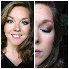 Soft Eye Look with Pink Lips using Urban Decay Naked 2  Makeup by MoMichelle
