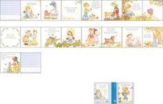 Imprimible libro Sarah Kay. Sarah Kay book to print. Scale 1:12. Escala 1:12