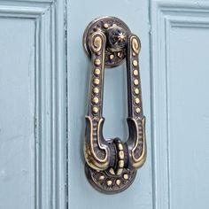 Aged Brass Regency Style Door Knocker which features on the Sherlock Holmes TV series and as  sc 1 st  Pinterest & Bilderesultat for victorian door knocker | Sherlock Holmes ...