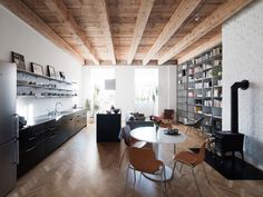 Clever storage helps make most of a 1,000-square-foot apartment #realestate