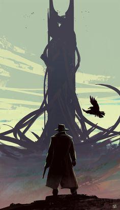 dark tower by nagy norbert Sparrow Volume 8: Glenn Barr