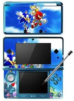 Sonic The Hedgehog Game Skin for Nintendo Console by Skinhub Hedgehog Game, Shadow The Hedgehog, Sonic The Hedgehog, Sonic Birthday Parties, Sonic Party, 10 Birthday, Baby Doll Accessories, Room Accessories, Home