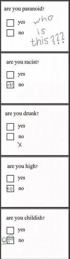 I wonder if I will pass the test...