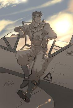 Fighter pilot AU
