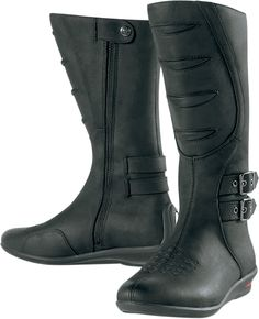 Sacred Tall Boot - Black | Products | Ride Icon