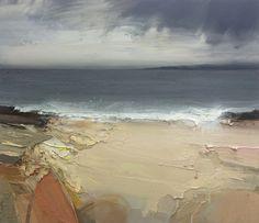 "Chris Bushe ~ ""Wind and Rain, October, Loch Gruinart"""