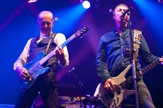 Francis Rossi and John 'Rhino' Edwards. Status Quo Copyright B&O Press Photo