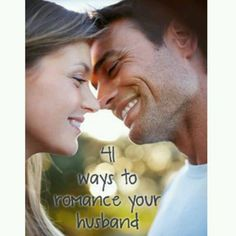 Romance your husband