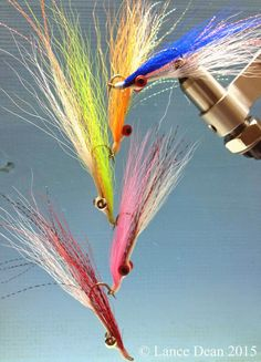 Lance Dean Ties the Clouser Minnow. Bass Fishing Tips, Fly Fishing, Crappie Jigs, Fly Tying Vises, Australian Bass, Bait Caster, Spinner Bait, Saltwater Flies, Fly Tying Patterns