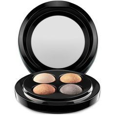 Mac Mineralize Eye Shadow x4 (€43) ❤ liked on Polyvore featuring beauty products, makeup, eye makeup, eyeshadow, beauty, eyes, mac, a glimmer of gold, mineral eyeshadow and mac cosmetics