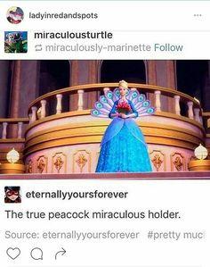 Miraculous LADYBUG peacock holder Barbie XX