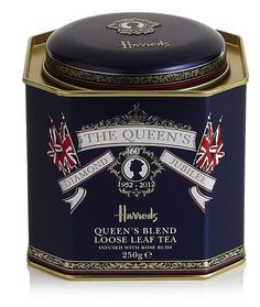 Harrods Queen's Blend Loose Leaf Tea issued for her Diamond Jubilee.
