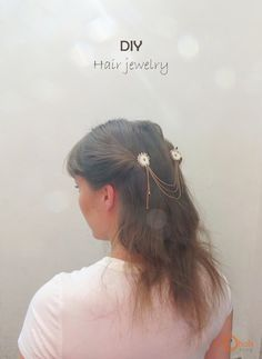 Ohoh Blog - diy and crafts: DIY Hair jewelry
