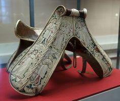 Ceremonial saddle of Ladislaus the Posthumous, c. 1455. Wien, KHM A 64