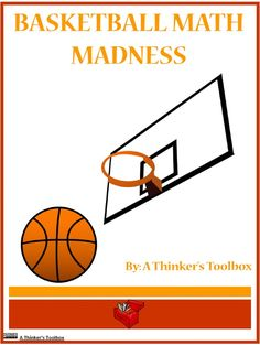 Basketball Math Madness by A Thinker's Toolbox includes 16 no prep math worksheets that are great for 1st and 2nd graders.