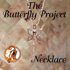 Image of Necklace ~ The Butterfly Project by Never Take It Off ($12.50)