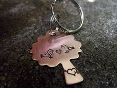 Tree Love  keychain by patsdesign on Etsy, $15.00