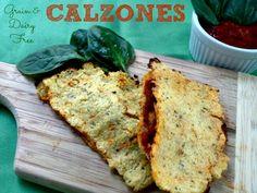 Cauliflower Calzones