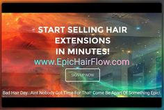 #epichairflow #hairbusiness #entrepreneur #beautyschool #barbercollege #hairstylist #salonowners #networkmarketers #stayathomemoms #onlinebusiness #FREE Hair Extensions is Big Business!  HAVE YOU HEARD THE NEWS?  Why not be a part of it by selling hair extensions with Luxury Hair Direct? We have recently changed our platform that allows you to get started in less than 60 seconds and it is completely free. No fees to join and no monthly fees. It makes selling hair easy.
