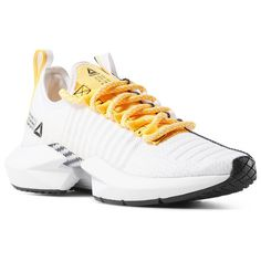 check out 57916 29d90 Reebok Shoes Women s Sole Fury SE in White Black Solar Gold Size 9.5 -