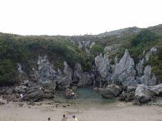 Monumento natural de la Playa de Gulpiyuri, Asturias
