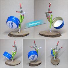 사라진 B-Boy를 다시 만듦~^^ #병뚜껑공예 #병뚜껑아트 #뚜껑맨 #BottleCapArt #BottleCapCrafts #瓶盖艺术 #瓶盖人…