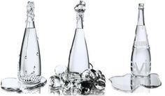 Agua mineral Evian. Botella diseñada por Jean- Paul Gaultier.