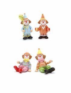 Figurine clown pour une décoration baptême et anniversaire sur le thème cirque Decoration Cirque, Christmas Ornaments, Holiday Decor, Christmas Jewelry, Christmas Decorations, Christmas Decor
