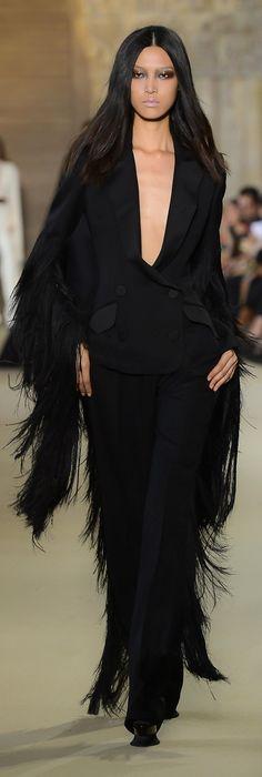 Catwalk #BlackMagic #Fashion #Style #Catwalk #Runway #Black #Fringe #OOTD #Inspiration #Glam