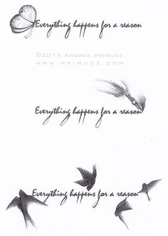 everything happens for a reason | Andrea Primusz