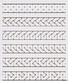 Islamic Patterns, Celtic Patterns, Celtic Designs, Blackwork Patterns, Zentangle Patterns, Quilt Patterns, Zentangles, Graph Paper Drawings, Graph Paper Art