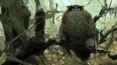 Owl by Sergey Kolesov
