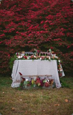 botanical brouhaha: Sweetheart Table Designs