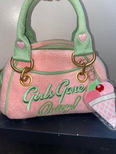 Luxury Purses, Luxury Bags, Cute Handbags, Purses And Handbags, Fashion Bags, Fashion Accessories, Aesthetic Bags, Swag Girl Style, Juicy Couture Bags