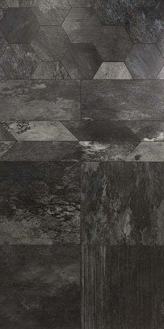 — Florim Cersaie Great mix of pattern and texture Pattern Texture, Tiles Texture, Stone Texture, Floor Patterns, Tile Patterns, Textures Patterns, Floor Design, Tile Design, Stone Veneer