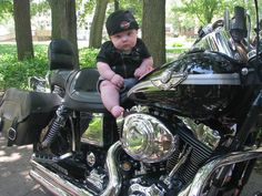 Kids are the future of riding, so break them in 'early'.