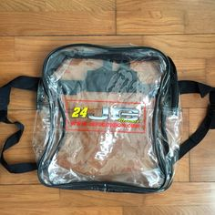 7facb5108a16 Jeff Gordon Clear Back Pack Dope bag