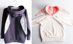 Looking for your next project? You're going to love kids Hooded T-shirts with rabbit ears by designer Mijeong Jeong.