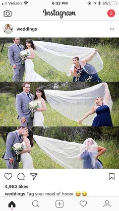 lustig Picdump Natural Hair Loss Treatment – Herbs Hair loss treatments are usually divided into two Wedding Picture Poses, Funny Wedding Photos, Cute Wedding Ideas, Wedding Goals, Wedding Pics, Dream Wedding, Funny Bridesmaid Pictures, Funny Engagement Photos, Need Friends