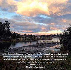 Scripture - 2 Timothy 3:16-17