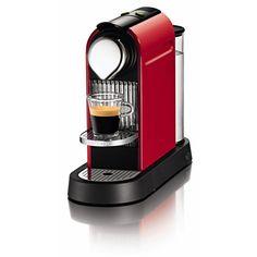 WE LOVE OUR NESPRESSO MACHINE!! Nespresso Citiz Fire Engine Red Espresso Machine