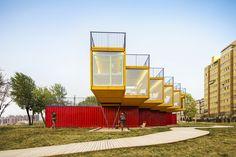 Galeria de Pavilhão de Container / People's Architecture - 3