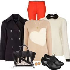 """""""College & Casual Outfit"""" by mozeemo on Polyvore"""